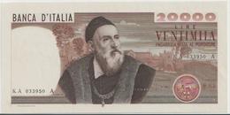 ITALY P. 104 20000 L 1975  AUNC - [ 2] 1946-… Republik