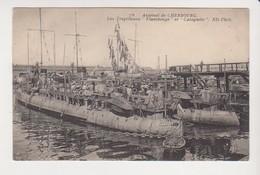 26740 Arsenal Cherbourg Torpilleur Flamberge Catapulte -marin Bateau -ND 76 - Guerra