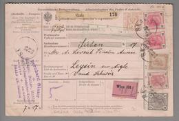Heimat Ukraine Skala-Podilska 1905-12-24 Paketkarten- GS Nach Leysin CH - Ukraine