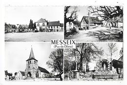MESSEIX  (cpsm 63)  Multi-vues     -  L 1 - France