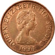 Monnaie, Jersey, Elizabeth II, Penny, 1994, TTB, Copper Plated Steel, KM:54b - Jersey