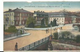 Allemagne   Zweibrucken Herzogsplatz Avec Mess Des Officiers - Zweibruecken