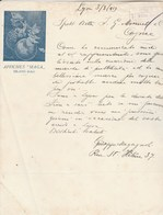 Italie  Lettre Illustrée 3/3/1919 Signée Giuseppe MAGAGNOLI Affiches MAGA MILANO - Italie