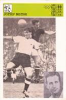 JOZSEF BOZSIK,SVIJET SPORTA SOCCER CARD - Soccer