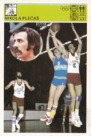 NIKOLA PLECAS,SVIJET SPORTA BASKETBALL CARD - Basket-ball