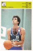 ANDRO KNEGO,SVIJET SPORTA BASKETBALL CARD - Basket-ball