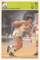 ZORICA DURKOVIC,SVIJET SPORTA BASKETBALL CARD - Basket-ball