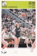 SANJA OZEGOVIC,SVIJET SPORTA BASKETBALL CARD - Basket-ball