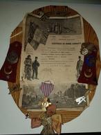 Rare Ensemble Avec Medaille ,insignes Et Breloques D Un Infirmier Militaire - 1939-45