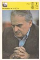 BORISLAV IVKOV,SVIJET SPORTA CHESS CARD - Postcards