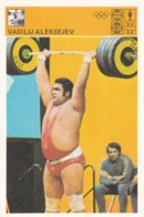 VASILIJ ALEKSEJEV,SVIJET SPORTA WEIGHTLIFTING CARD - Weightlifting