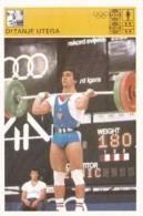 WEIGHTLIFTING,SVIJET SPORTA WEIGHTLIFTING CARD - Weightlifting
