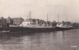 Courrier L'Arromanches  à Quai à Dieppe - Paquebots