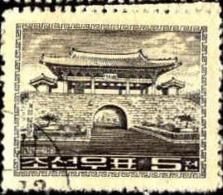 Corée Nord Poste Obl Yv: 472/474 Edifices Anciens (Beau Cachet Rond) 3 Tbres - Corée Du Nord