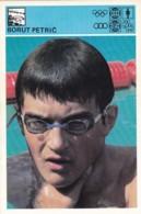BORUT PETRIC,SVIJET SPORTA SWIMMING CARD - Nuoto