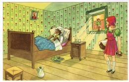 Roodkapje, Le Petit Chaperon Rouge, Little Red Riding Hood (pk55114) - Contes, Fables & Légendes
