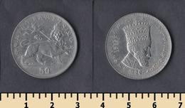 Ethiopia 50 Matonas 1923 (1931) - Ethiopie