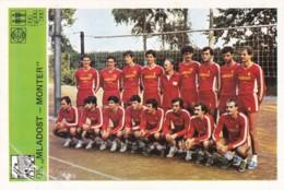 OK MLADOST-MONTER,SVIJET SPORTA VOLLEYBALL CARD - Volleyball