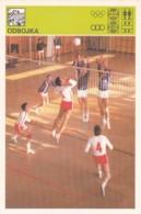 VOLLEYBALL,SVIJET SPORTA VOLLEYBALL CARD - Volleyball