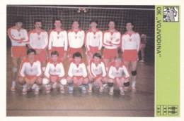 OK VOJVODINA,SVIJET SPORTA VOLLEYBALL CARD - Volleyball