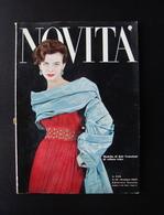 NOVITA' N 87 GENNAIO 1958 ED NOVITA' MILANO DIOR VENZIANI BALENCIAGA RIVELLA - Zonder Classificatie