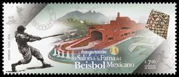 2018 MÉXICO INAUGURACIÓN DEL SALÓN DE LA FAMA DEL BÉISBOL MEXICANO, MNH  MEXICAN BASEBALL - Mexique
