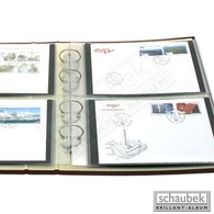 Schaubek Fo-004/10 FDC-Folienhüllen 186x123 Mm Für Album Top - Sobres Transparentes