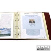 Schaubek Fo-005/10 ETB-Folienhüllen 153x218 Mm Für Album Genius - Sobres Transparentes