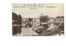 Cpa - 77 - Meaux - Croquis De Guerre - Octobre 1915 - Pont Sauté Lavoirs Coulés - N°48 - Meaux