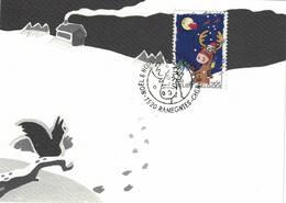 FDC Du 6-11-1999 Noël Et Nouvel An COB 2853 - FDC