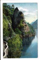 CPA - Carte Postale Suisse-Tessin Lago Di Lugano-Rocco Di Gandria -S5184 - TI Tessin