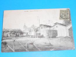 28 ) Lèves - Gare Du Tramway - Année 1918 - EDIT : L.V - Lèves