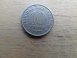 Trinite & Tobago  10  Cents  1971 Km 3 - Trinité & Tobago