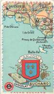 CHROMO  CHOCOLAT SUCHARD LA FRANCE EN 72 VIGNETTES N°26 ANJOU - Suchard