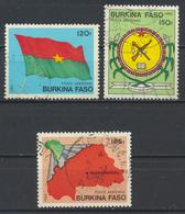 °°° BURKINA FASO - Y&T N°278/80 PA - 1985 °°° - Burkina Faso (1984-...)