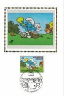 FDC Du 20-10-1984 Philatélie De La Jeunesse: Schtroumph (bande Dessinée) COB 2150 - FDC