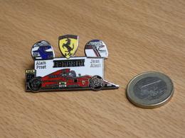 FERRARI. ALAIN PROST. JEAN ALESI. MALBORO. 2 POINTES EGF. - Ferrari