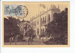 Carte-Maximum ALGERIE N°Yvert 200 (PALAIS D'ETE) Obl Sp Alger Palais D'Eté - Algérie (1924-1962)
