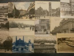 Lot Dpt 75 Seine Paris Lot De 39 Cartes Postales Dont Certaines Animees. Lot De Vues Diverses, Avenues, Monuments Entre - Cartes Postales