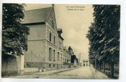 49 LE LION D'ANGERS Avenue De La Gare écrite Du Bourg En  1912       ---D13-2017 - France