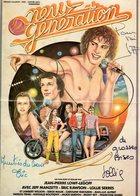 Affichette Film New Generation  Dedicaces Eric Rawson Et Lollie Serres - Autographes