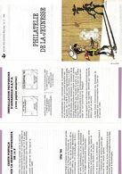 FDC Du 13-10-1990 Philatélie De La Jeunesse: Lucky Luke (bande Dessinée) COB 2390 - FDC