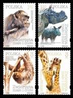 Poland 2018 Mih. 5079/82 Fauna. Small And Large Animals MNH ** - Ungebraucht