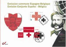 FDC Du 28-10-2013 Croix-rouge: émission Commune Avec L'Espagne COB 4380 - FDC