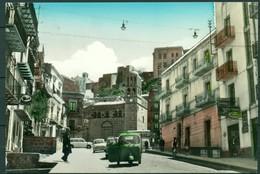 CARTOLINA - SICILIA CV137 TROINA (Enna) Via Garibaldi E Chiesa S. Sebastiano, FG C, Non Viaggiata, Ottime Condizioni - Enna