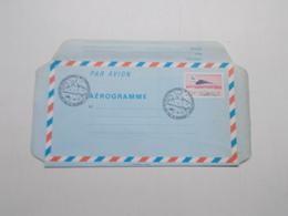 AEROGRAMME POUR LE 40ème SALON INTERNATIONAL DE L' AERONAUTIQUE AU BOURGET - Postal Stamped Stationery