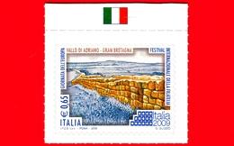Nuovo - MNH -  ITALIA - 2009 - Giornata Dell'Europa - Vallo Di Adriano, Gran Bretagna - 0,65 - 6. 1946-.. Repubblica