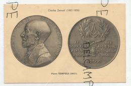CPA Représentant Des Médailles: Pierre Tempels Par C. Samuel - Monnaies (représentations)