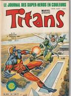 Rare Revue Titans Guerre Des étoiles Star Wars N° 28 - Titans