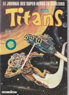 Rare Revue Titans Guerre Des étoiles Star Wars N° 40 - Titans